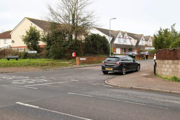 Junction of Hamilton Road and Salterton Road