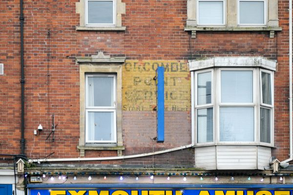 Orcombe Point Service - Exmouth ghost sign